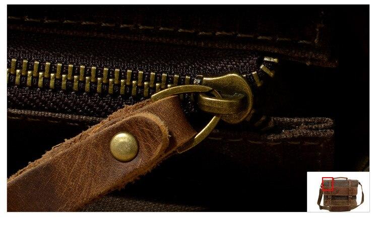 "HTB1KObLSwHqK1RjSZFEq6AGMXXa8 M275 Mens Messenger Bag Waterproof Canvas Leather Men Vintage Handbags Large Satchel Shoulder Bags 14"" Computer Laptop Briefcase"