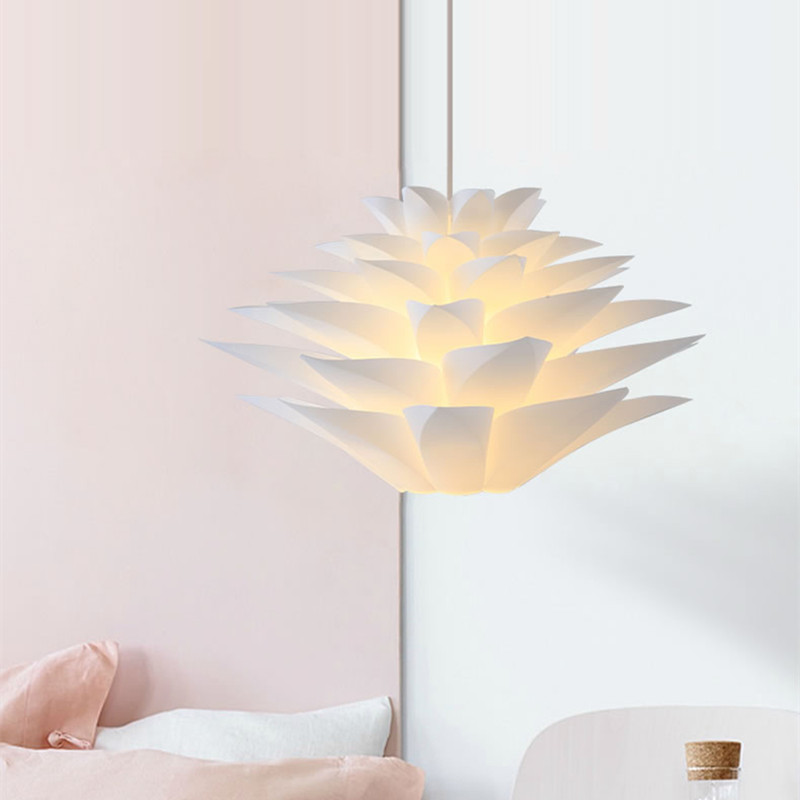 Hot sale modern nodic pendant lights white flower lily hanglamp led modern nodic pendant lights white flower lily hanglamp led light fixtures for living room kitchen dinning room pendant lamps mightylinksfo