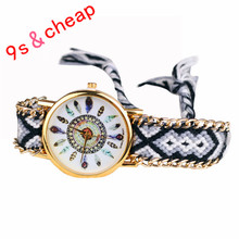 women watches Hot Leisure Fashion Peony Flower Woman Ladies Bracelet Watch Ethnic Style High Quality #200717