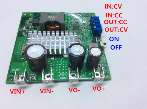 Free shipping   DC-DC automatic lift module LT8705  Solar MPPT charge 0.5-20A/3-75V