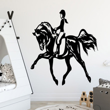 European-Style girl Decorative Sticker Waterproof Home Decor For Kids Room Decoration Wall Art Decal
