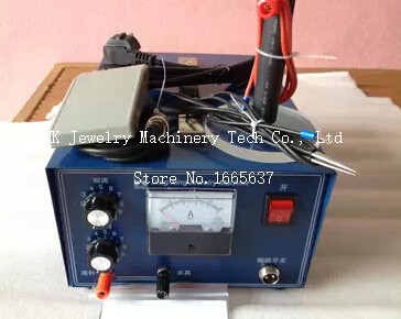 110V/220V Multi-Functional Spot Welding Machine, Pulse Sparkle Welder WITH ONE MORE welding electrode FOR FREE цена
