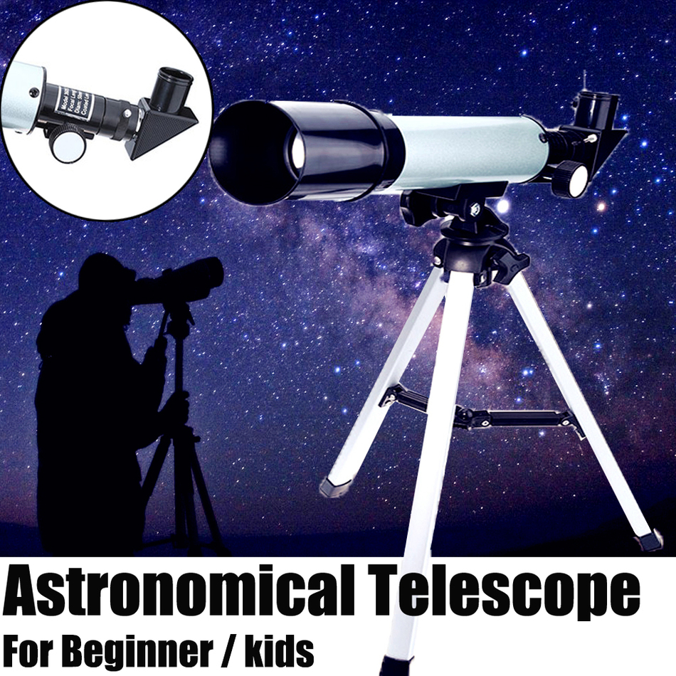 F36050M 360/50mm Refractive Monocular Astronomical Telescope Tripod HD Space Monocular Spotting Scope Telescopes professional zonebike zoom hd 90x outdoor space astronomical telescope monocular with tripod 360 50mm telescopic spotting scope for children