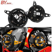 Motorcycle CNC Aluminum Accessories Engine Stator Cover Engine Protective Cover Side Protector For KAWASAKI Z800 Z 800 2013-2017