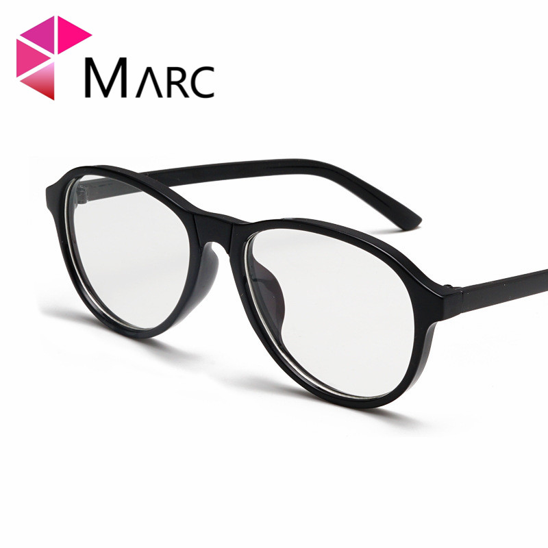 MARC 2019 Women Fashion Sunglasses Oval UV400 Oculos fashion eyewear Yellow Pink 1