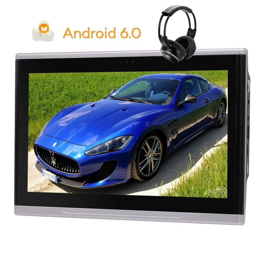 10.1 Android 6.0 Headrest Monitor Quad-core 1.6GHZ CPU 2GB RAM 8GB ROM Multi Touch Screen HD Wide Screen Car Headrest Monitor ...