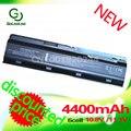 Golooloo 4400 mah bateria para compaq presario cq70 hstnn-yb0x nbp6a174 nbp6a174b1 nbp6a175 nbp6a175b1 wd548aa mu06 mu09 g62