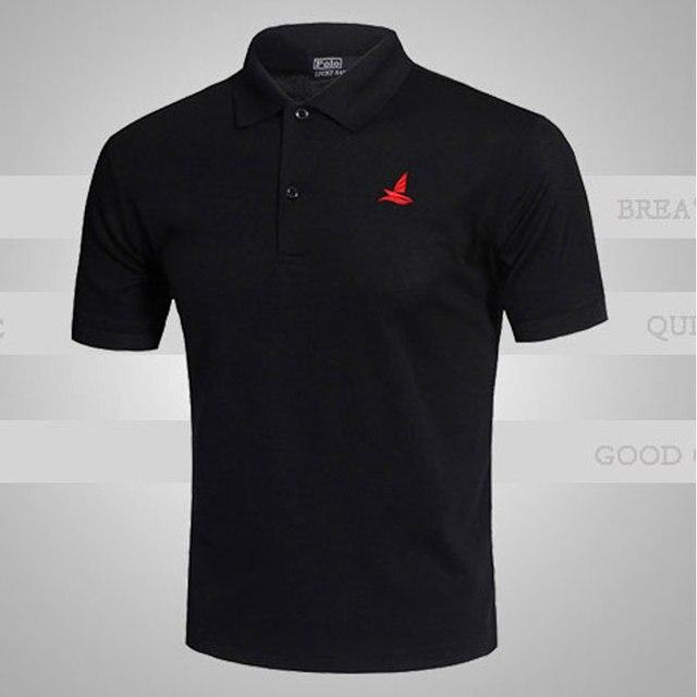 Новый бренд мужская твердые рубашки поло Camisas Masculinas свободного покроя с коротким рукавом Blusas поло мужчины лучших поло тис Большой размер спортивной XXL