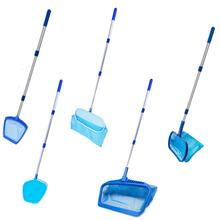 Swimming Pool Cleaning Tool Deep Net With Rod Professional Leaf Rake Mesh Frame Skimmer Cleaner