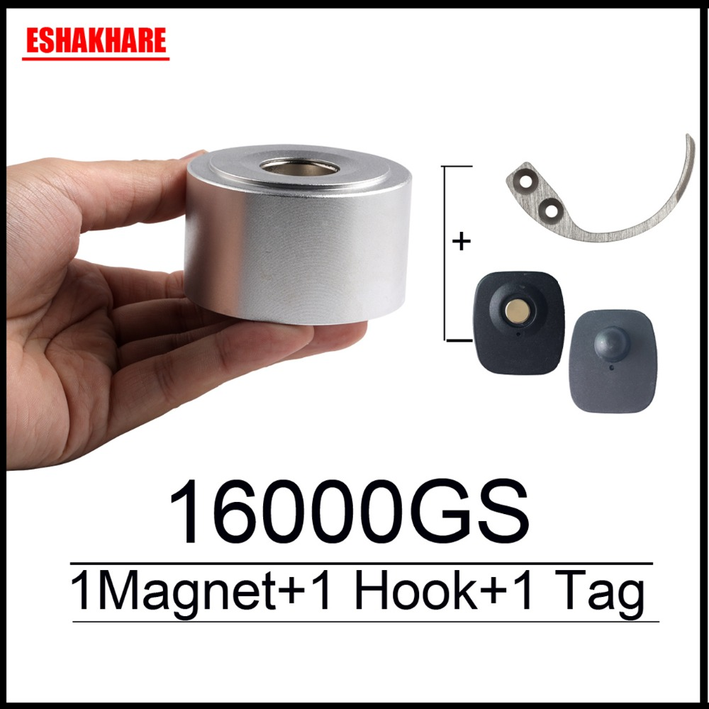 16000GS universal alarm detacher checkpoint security tag remover 1 free key hook detacher for eas tag