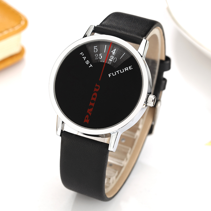 New Arrival Fashion Paidu Casual Analog Dial Number Men Women Watch Sport Quartz Leather Wrist Watch Gift Relogio Masculino female simple fashion casual wrist watch women love heart dial leather band analog alloy quartz wristwatch loves gift