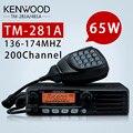 65 Вт База Радио TM481 ИЛИ TM281A 136-174 ИЛИ 400-470 МГц Более 10 КМ Мобильных Два способ Радио Автомобиля Радиостанции Walkie Talkie