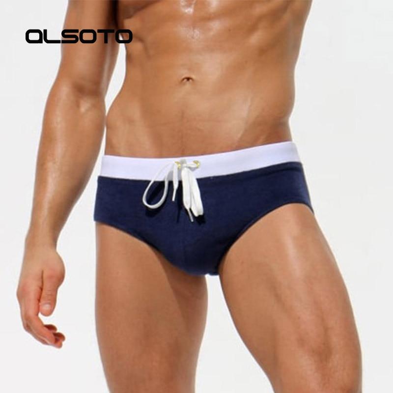 ALSOTO Marca Hombre Traje de baño Traje de baño sexy Hombres Pantalones cortos de baño Calzoncillos Maillot De Bain Homme Banadores De Hombre Zwembroek Heren Sunga