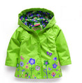 2015 fashion baby girl Outerwear Outerwear & Coats blazer brand cotton Trench Spring Autumn Girls Hoodies Jackets, Baby raincoat