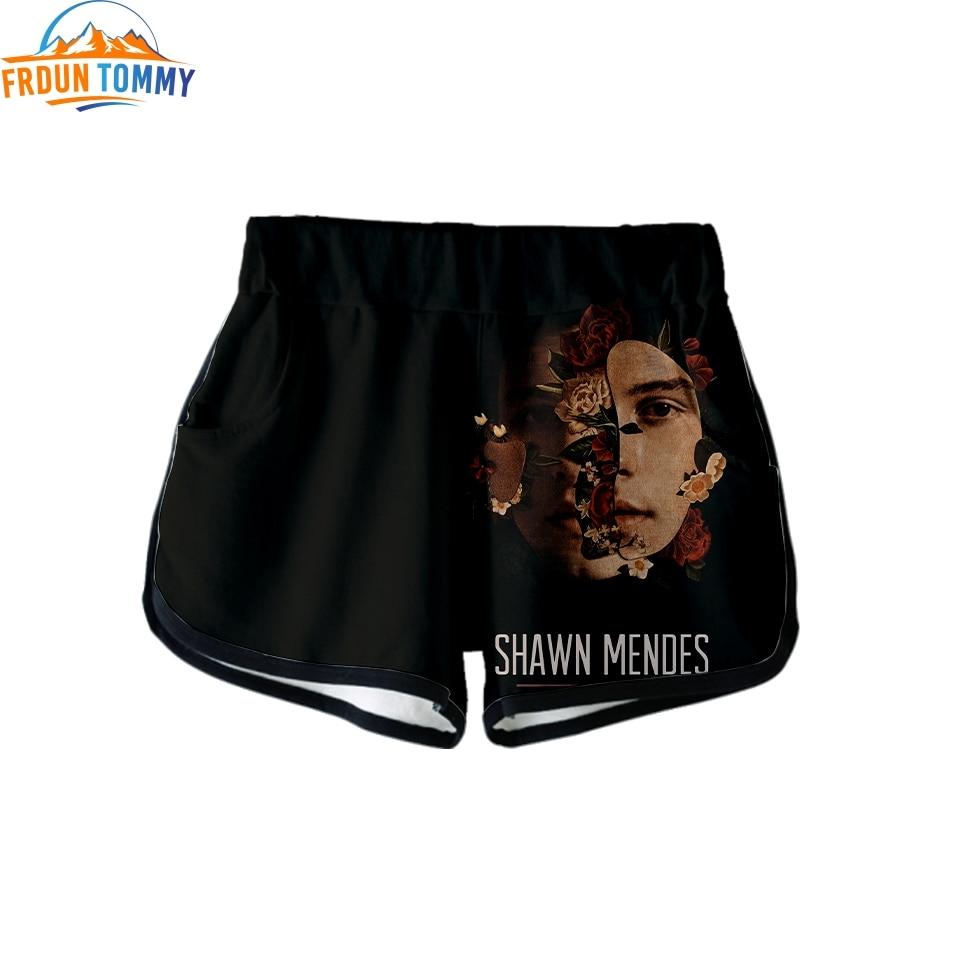 New Shawn Mendes Fashion Print Summer Women Casual Shawn Mendes Harajuku Cute Girl High Quality Hot Sale Sexy Shorts Clothes