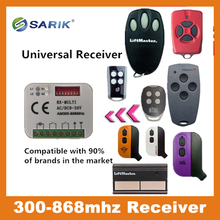 hot deal buy 2-ch multi frequency 300-868mhz brand compatible receiver for bft faac remote controls