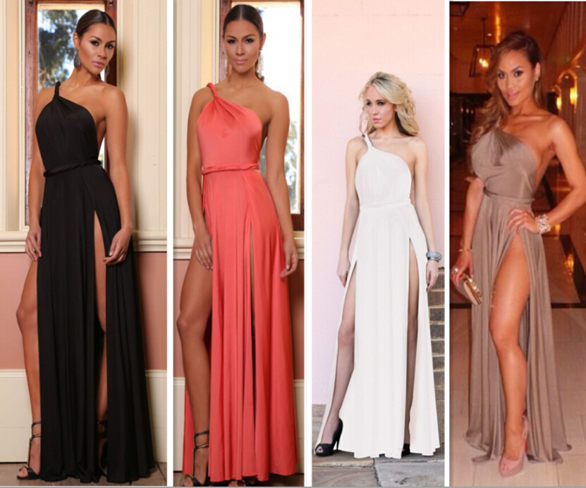 7 Colors New 2016 Sexy Nightclub Dress Summer Women Party Evening