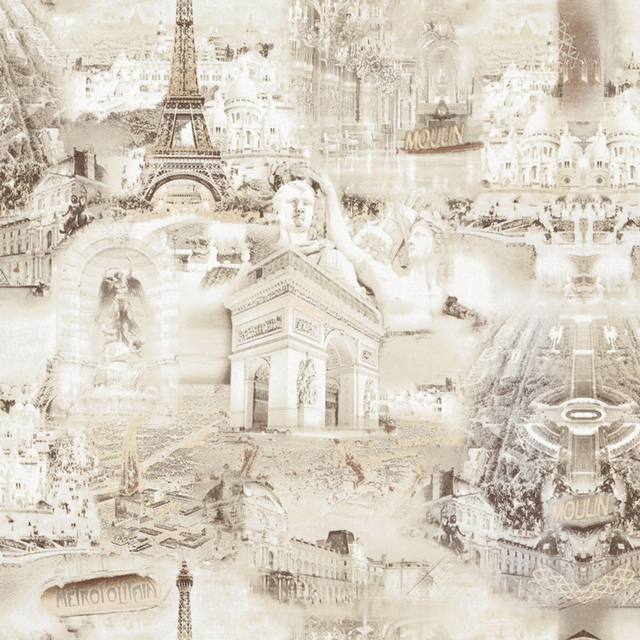 decorative wallpaper vintage buildings pvc vinyl wallpapers for coffee house hotel room wall paper roll papel - Decorative Wallpaper
