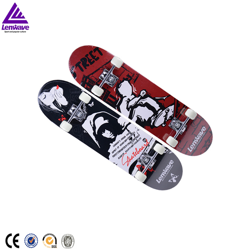 Lenwave Brand Long Skateboard Cool Sport Drift Long Straight Plate Maple Wood Material New Design Outdoor Sports Skate Board 2016 new peny board skateboard complete retro girl boy cruiser mini longboard skate fish long board skate wheel pnny board 22