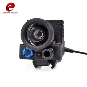 Image 4 - Nguyên Tố Airsoft ELLM01 Vũ Khí Nhẹ Phiên Bản Mới Đầy Đủ Chức Năng Phiên Bản IR Laser Đỏ LED EX214 Phiên Bản Mới