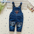 New Spring Baby Overall Denim Bib Pants Newborn Boys Girls Cartoon Jeans Pant Infant Suspender Trousers Kids Jumpsuits