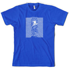 Unknown Pleasures Of SnowboardER - Mens T-Shirt Print T Shirt Short Sleeve Hot Tops Tshirt Homme