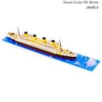 ไททานิคล่องเรือรูปร่าง3Dหน่วยการสร้างรูปแบบUnisex