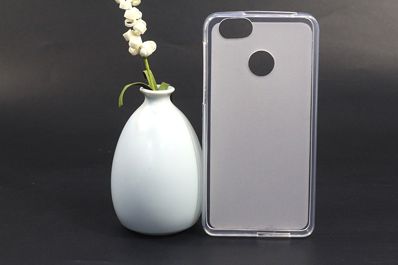 ᗗFor Fly Power Plus 1 FS521 Case Cover White Clear Silicone