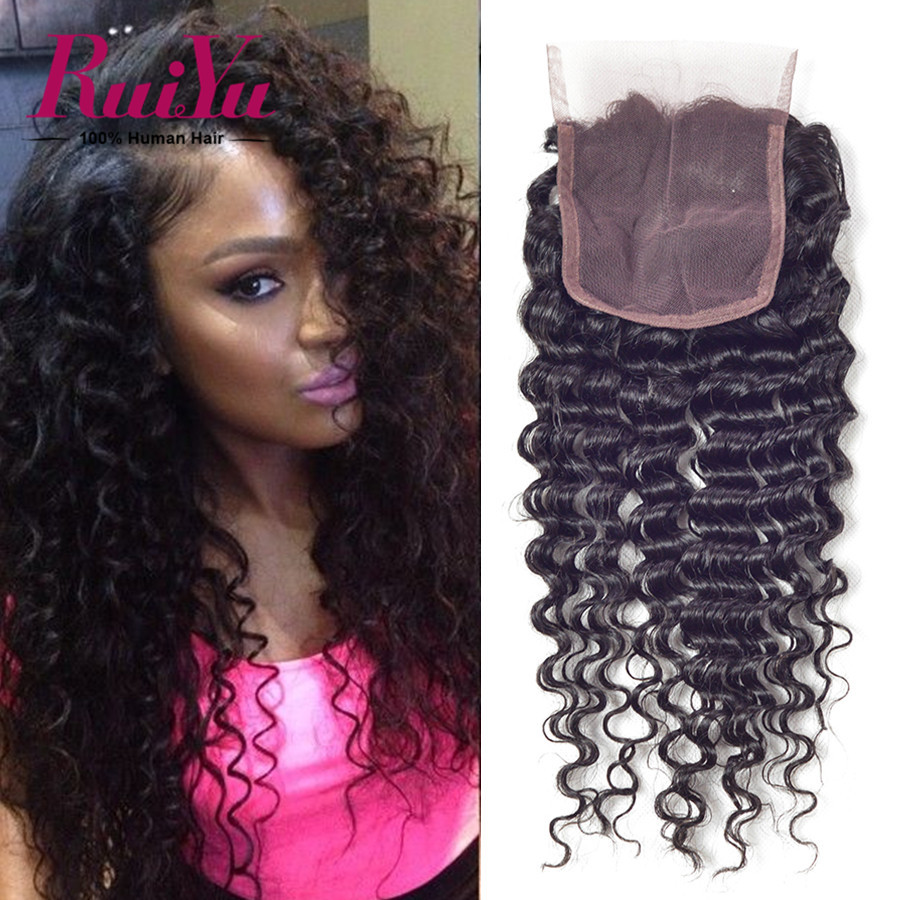 Where to buy hair closures - Order 1 Piece Malaysian Curly Closure Malaysain Virgin Hair Deep Wave Curly Closure 8 24 Free