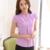 Elegantes blusas de Chiffon Fino Moda manga curta camisas Ocasionais das mulheres Nova 2017 Verão Mulheres blusas plus size mulheres tops