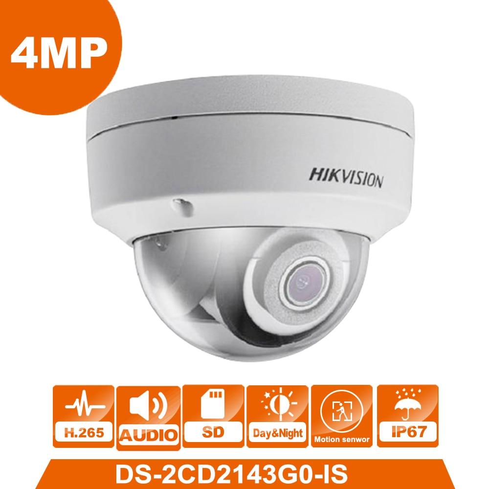 D'origine DS-2CD2143G0-IS Anglais version 4MP Remplacer DS-2CD2142FWD-IS CCTV caméra IP Caméra Avec Audio fonction