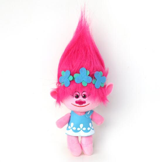 3 Sizes Fast Delivery Dreamworks Movie Trolls Toy Plush Trolls Poppy Trolls Figures Magic Fairy Hair Wizard Kids Toys 6pcs set 8cm trolls movie figure collectible dolls poppy branch biggie pvc trolls action figures toy for kids christmas gifts
