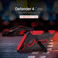 Luxury Cases For Apple Iphone 7 4 7 7plus 5 5 Nillkin Defender 4Gen Tough Slim
