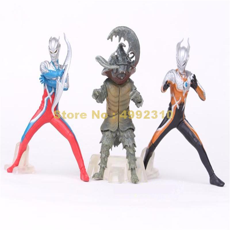 Image 3 - 5pcs/set ultraman monster super man vs monster the 5th pvc action figure collection model toy 10~12cm ToyAction & Toy Figures   -