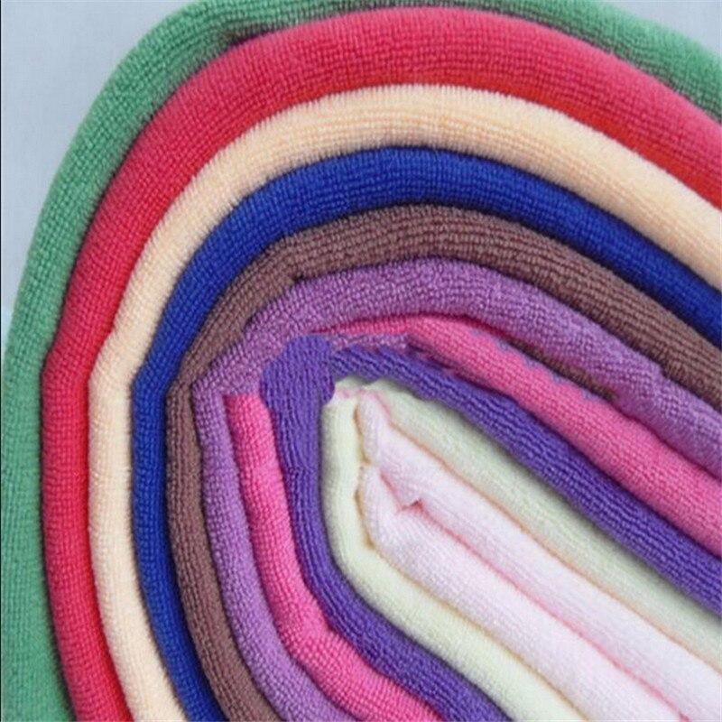5 uds. De algodón duradero toallas para las manos y cara suave Color aleatorio Toalla de dibujos animados para adultos 100% Toalla de baño de algodón textil toalla gruesa grande Albornoz de Hotel Toalla de playa chal niños manta Toallas