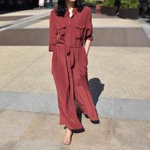 800usd EQ ladies 100 real silk long sleeve long blouse women shirt style dress