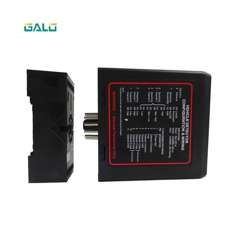 PD232 двухканальный Индуктивный Автомобиля детектор датчик для mightymule faac bft мотор барьер ворота система парковки