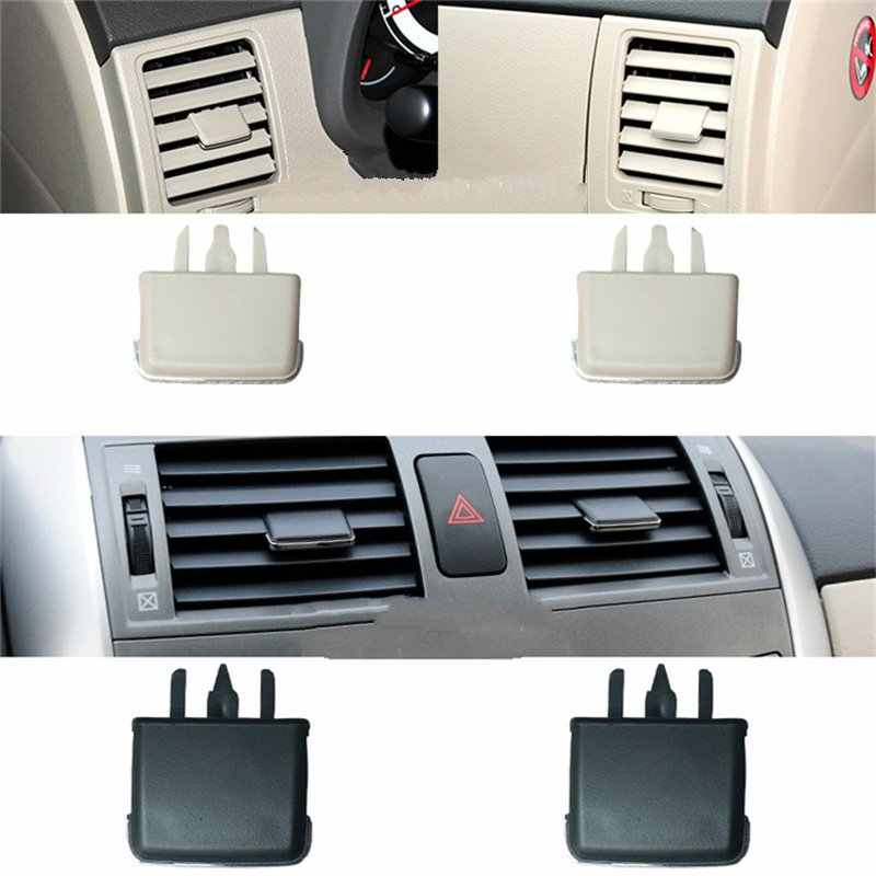 4Pcs For Toyota Corolla Car Air Vent Louvre Blade Slice Air Conditioning Leaf Adjust Clips