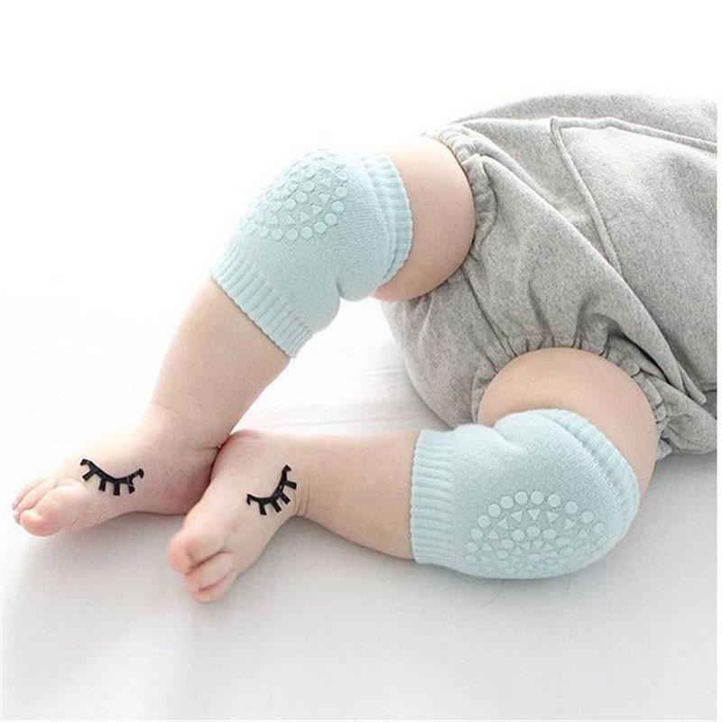 0-3T Otroška dojenčka bombaž odebeljena moda Trdna divja večnamenske plazljive grelce za noge Otroški fant dekle Kneepad nogavice Otroci CN