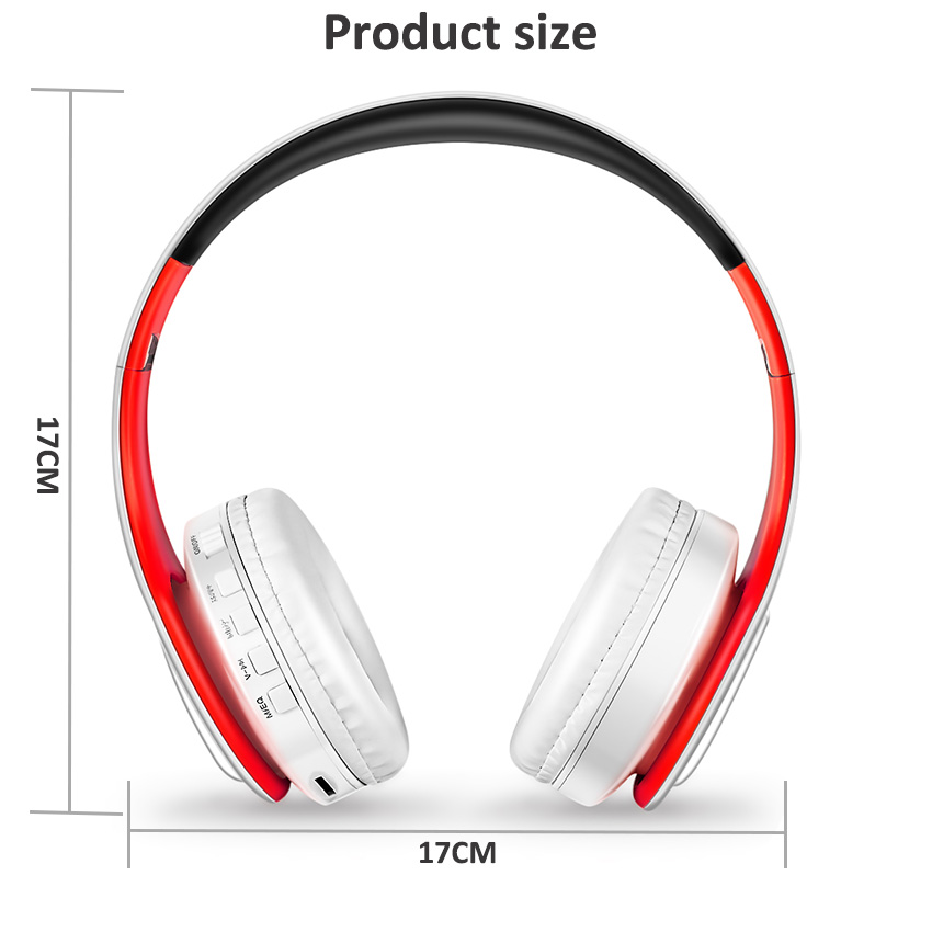 product size red white