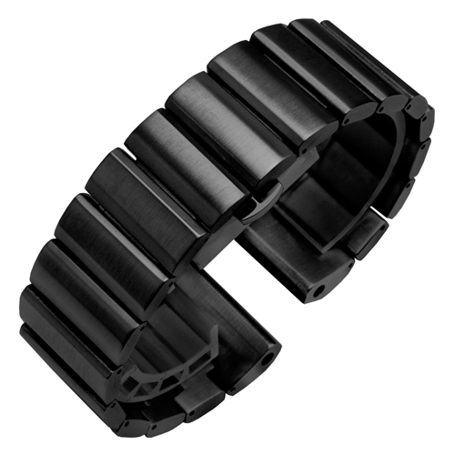 26mm Stainless Steel watchband black silvery golden rose gold replacement strap for  Garmin fenix5X 3HR band chain | Watchbands