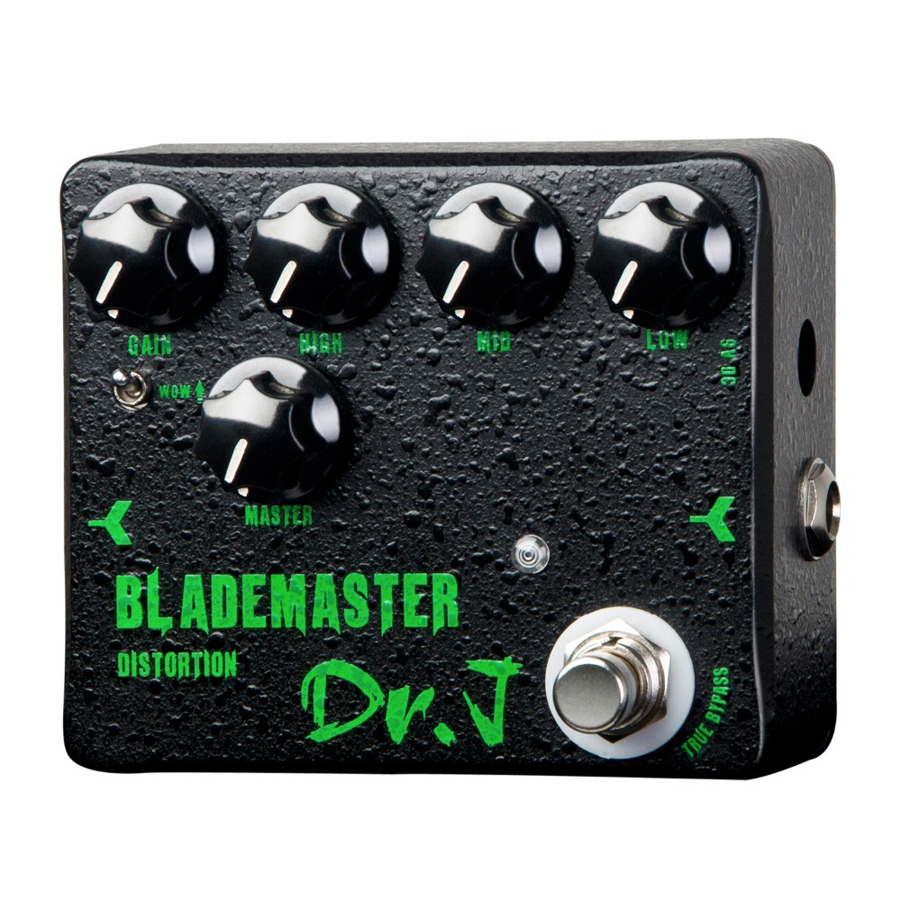 Dr. J Blademaster Fuzz Electric Guitar Effect Pedal True Bypass True Bypass D-58 aroma adr 3 dumbler amp simulator guitar effect pedal mini single pedals with true bypass aluminium alloy guitar accessories