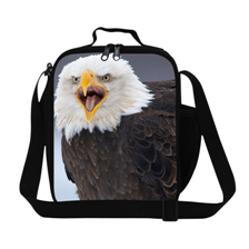 26 Lovely animal Portable and shoulder insulated Picnic cooler bag ice pack lunch bag free shipping