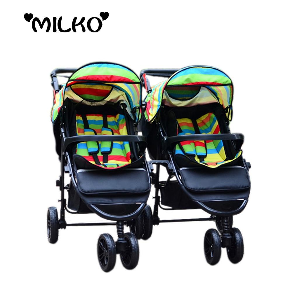 Infant Toddler Double Stroller