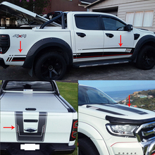 Car stickers the Whole Body vinyl car wrap for Ford ranger 2012-2017