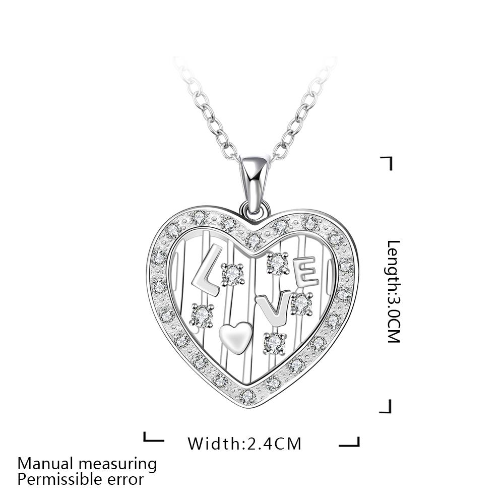 lsbl1 for kim new come Classic lsbl1 white Heart 2 size women 925 silver 45cm chain send with packing for women birthday gift pd2 for kim customer send with bag and box 7mm beads 925 silver jewelry for women and men