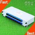 KELUSHI 1*32 PLC De Fibra Óptica Divisor SC Conector De Inserción de La Tarjeta Casete PLC Divisor de Fibra de Ramificación Dispositivo Caliente de La Venta