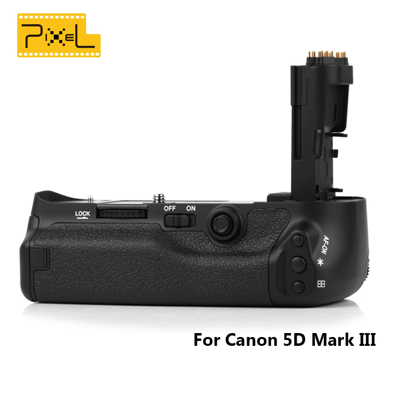 Pixel font b Camera b font Special Handle Vertax E11 Battery Grip For Canon 5D Mark