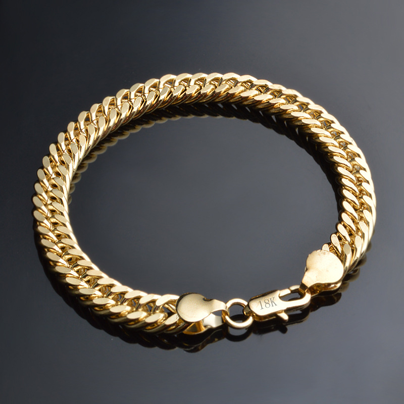 thick chain gothic zoom about biker long gold stainless loading silver soft wide chunky solid details heavy bracelet ru bracelets steel