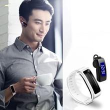 Новинка Портативный смарт-браслет с гарнитурой Bluetooth телефон anti-потерял браслет для смартфонов IOS Andriod
